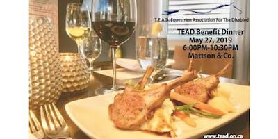TEAD Benefit Dinner 2019