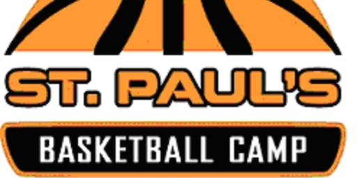 St. Paul's Summer HOOPS Camp Session I - Boys