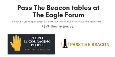 Pass The Beacon Tables At Eagle Forum