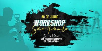 """Workshop """"Meu processo criativo, da cena ao todo"""""""