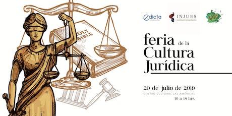 FERIA DE LA CULTURA JURÍDICA  entradas