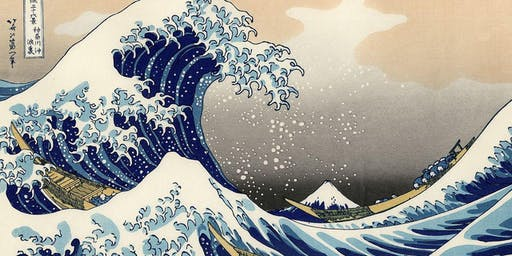 Paint'n'Pints™ at Aether Brewing Milton in September - The Great Wave of Kanagawa
