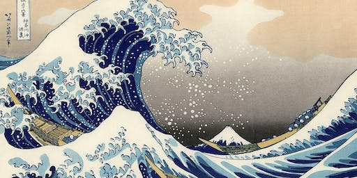 Paint'n'Pints at Aether Brewing Milton in September - The Great Wave of Kanagawa