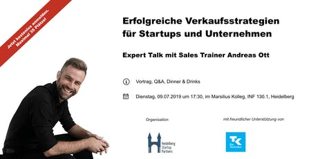 Expert Talk mit Sales Coach Andreas Ott tickets