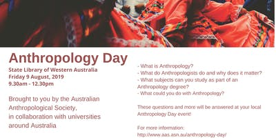Anthropology Day, Perth