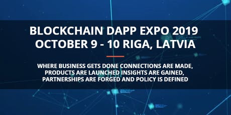 Blockchain Decentralized Application (DApp) Expo 2019 tickets