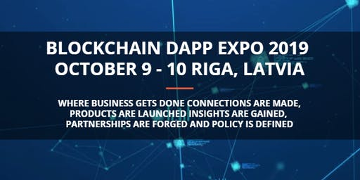 Blockchain Decentralized Application (DApp) Expo 2019