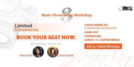 Basic Filmmaking Workshop 3  tickets