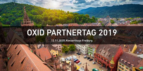 OXID Partnertag 2019 Tickets