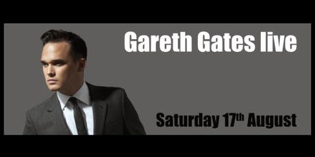 Gareth Gates Live tickets