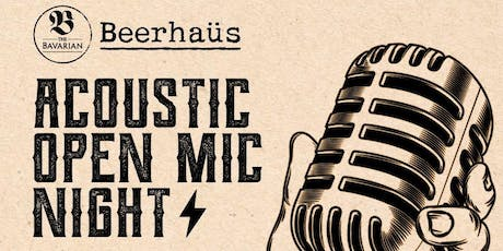 Calling all Muso's! Open Mic Night tickets