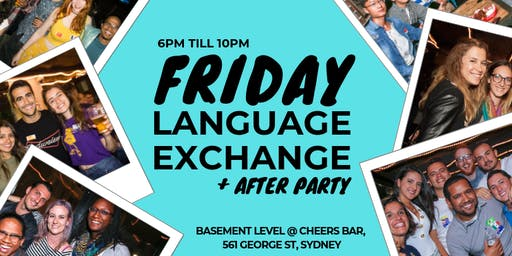 EVERY Friday - Sydney Lingos Language Exchange