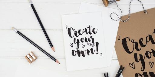 Brush Lettering for Beginners Workshop