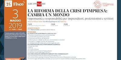 LA RIFORMA DELLA CRISI D'IMPRESA CAMBIA UN MONDO, Palermo, 3 maggio