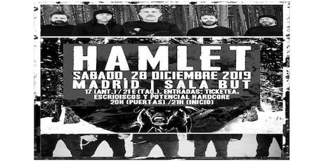 """HAMLET """"Gira Berlin"""" MADRID entradas"""