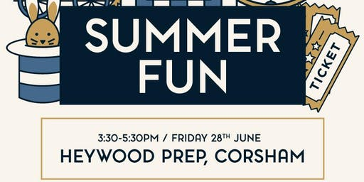 Summer Fun (Heywood Prep, Corsham)