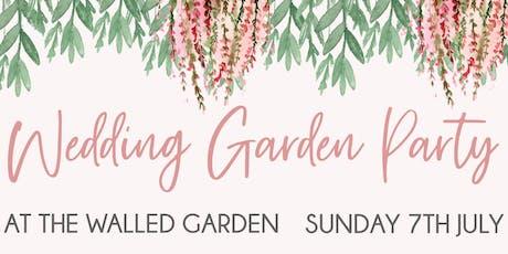 Wedding Garden Party at The Walled Garden tickets
