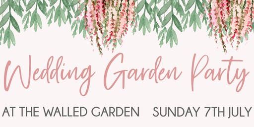 Wedding Garden Party at The Walled Garden