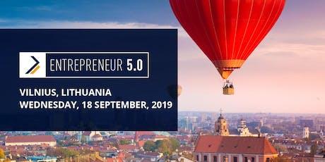 Entrepreneur 5.0 Vilnius tickets