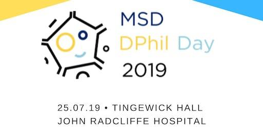 MSD DPhil Day 2019
