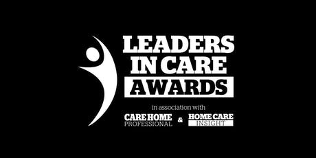 Leaders in Care Awards 2019 tickets