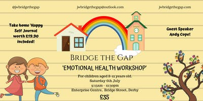 Emotional Health Workshop - For children aged 8 -12 years old