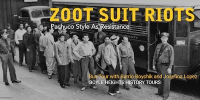 """""""Zoot Suit Riots"""" Bus Tour"""