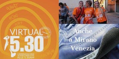 Run 530 Virtual Mirano 2019