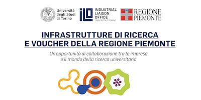 Infrastrutture di ricerca e voucher della Regione Piemonte