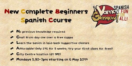 Complete Beginners Spanish with VamosGlasgow