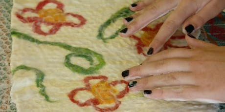 Make a Wet Felted Folded Purse with Agnis Smallwood tickets