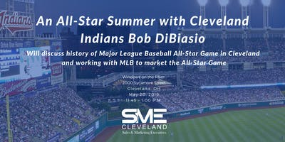 An All-Star Summer with Cleveland Indians Bob DiBiasio