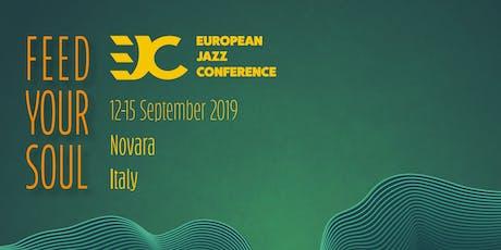 European Jazz Conference Novara 2019 tickets