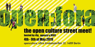 open:fora - open culture street meet !