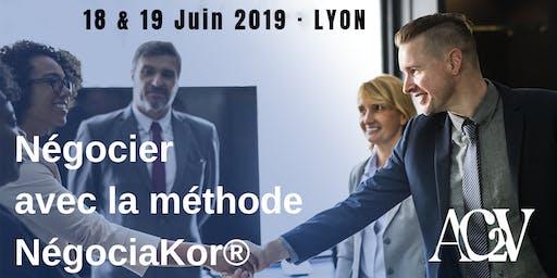 FORMATION NEGOCIER PAR LA METHODE NEGOCIAKOR© - Les 18 et 19 juin 2019 (14 heures)
