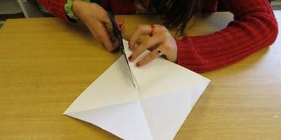 Introduction to the Art of Paper Cutting (Morecambe) #LancsLearning