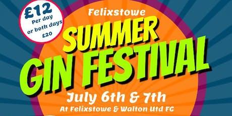 Felixstowe Gin Festival tickets