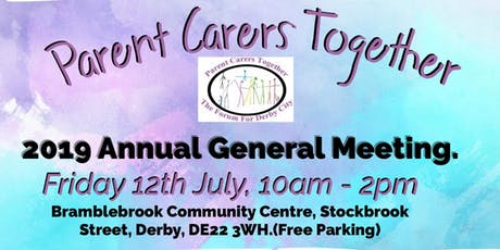 Parent Carers Together AGM tickets