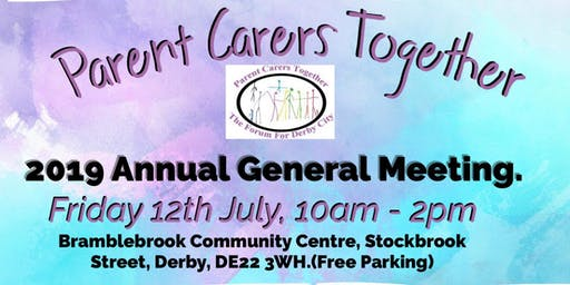 Parent Carers Together AGM