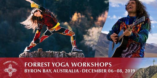 Forrest Yoga Workshops, Byron Bay 2019