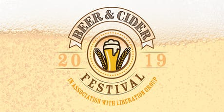 Beer and Cider Festival 2019 tickets