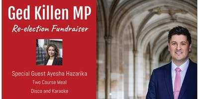 Ged Killen MP Re-election Fundraiser