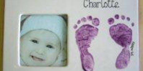 Babies Hands and Feet Imprint on Ceramics  tickets