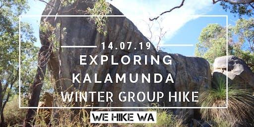 Exploring Kalamunda (passing by Rocky Pool) - Winter Group Hike