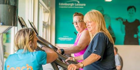 Using Edinburgh Leisure Gyms- CAP Workshop tickets