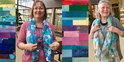 Moederdagactie kleurenanalyse met zijdensjaal