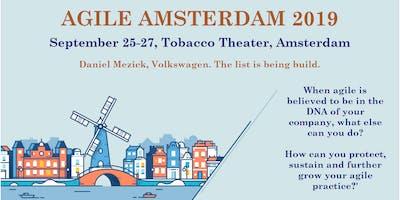 Agile Amsterdam 2019 | Sept 25-27 | Agile Event & Master Classes (optional)
