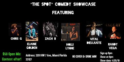 """Comedy Show & Open Mic Contest at """"The Spot"""""""