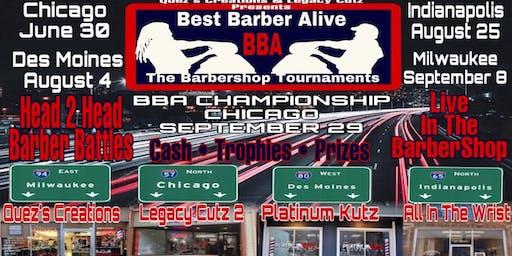 Best Barber Alive Barbershop Tournament (Chicago)