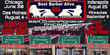 Best Barber Alive Barbershop Tournament Indianapolis IN tickets